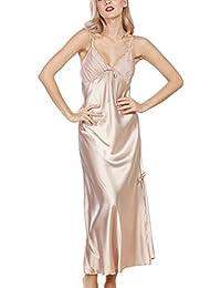 b496300887 Amazon.co.uk  Gold - Nightwear   Women  Clothing