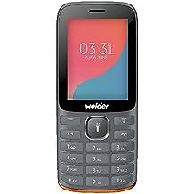 "Wolder - A27 (teléfono móvil) , dual sim, pantalla qvga (2,4""), batería larga duración (1750 mah), radio, linterna, cámara 0,3 mpx, 32 mb ram"