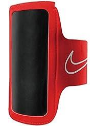 Nike Erwachsene Lightweight 2.0 Arm Band, Bright Crimson/Black/Silver