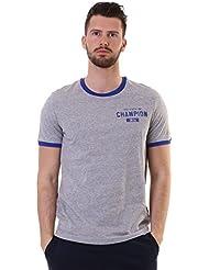 Champion m-t-shirt au Champion 1919 Cot, gris