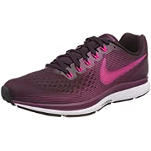 factory price 32bfa 966d4 Nike WMNS AIR Zoom Pegasus 34 Chaussures de Running Femme, (Vin Porto Rose
