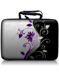 Luxburg® design hardcase sacoche housse rigide pour ordinateur portable 10,2 pouces / 12,1 pouces / 13,3 pouces / 14,2 pouces / 15,6 pouces / 17,3 pouces