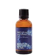 Mystic Moments Olio Essenziale Ricostituito Di Foglie Di Melissa - 50ml - 100% Puro