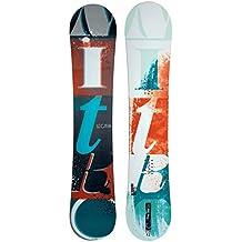 Nitro Snowboards Lectra Bold 15 Snowboard - Tabla de freestyle para snowboarding, color multicolor, talla 155
