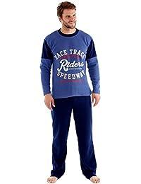 Hombres de Harvey James pijama conjuntos (forro polar, ropa térmica