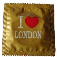 I Luv LTD I Heart London Gold-Neuheit Condom 3er Pack preisvergleich bei billige-tabletten.eu