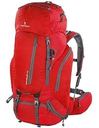Ferrino Mochila Rambler 75Litros rojo de montaña y trekking Mochila