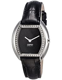 Esprit Collection Damen-Armbanduhr Gaia Analog Quarz Leder EL101142F01