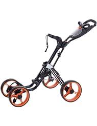 Legend XTK 430 011 4 - Carrito de golf de mano con ruedas (4 ruedas