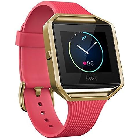 Fitbit Blaze - Reloj Inteligente Para Actividad Física, para unisex, Rosa Y Oro, S