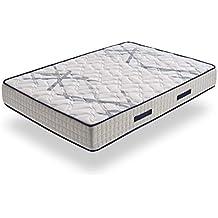 HOGAR24 ES Xtrem Pocket, Colchón Muelles Ensacados + Viscoelástica En Ambos Lados, Reversible Invierno