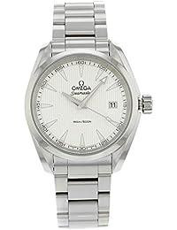 Omega Aqua Terra 231.10.39.60.02.001acero inoxidable cuarzo reloj de pulsera para hombre