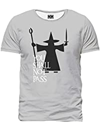 Noorhero Camiseta de Hombre - You Shall Not Pass