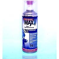 Spray Max Original 2K Klarlack Kratzfest Benzinfest Matt 400 ml 680065