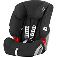 Britax Romer Evolva Group 1 2 3 Car Seat (Cosmos Black)
