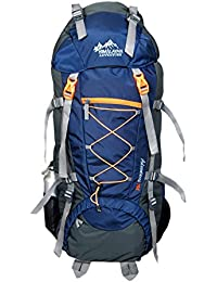 Himalayan Adventures 70 Ltrs Dark Blue Backpack/Rucksack/Travelling Bag/Hiking Bag/Adventure Bag/Camping Bag (...