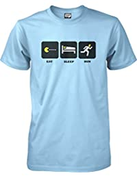 Eat, sleep, run - Running T-shirt - S to XXL Unisex