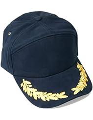 Senior Rank Yachting Cap (sryc) Gorra con hojas de roble