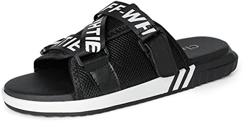 les pantoufles de loisirs de plein air huahua l été hommes les sandales de  plage 2ee5f5123666