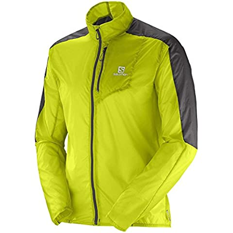 Salomon Fast Wing Jacket Herrenjacke Gecko Green