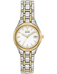 0fd32233764 Citizen Ladies Eco-Drive Silhouette Two-Tone Watch  EW1264-50A