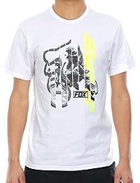 Tee shirt Fox Getting Even Optic Blanc