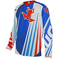 Uglyfrog Invierno Fleece Térmico Maillot Ciclismo Hombres Downhill/MX/MTB Jersey Element-Colour