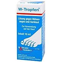 Preisvergleich für W-TROPFEN Lösung gegen Hühneraugen+Hornhaut 10 ml Lösung