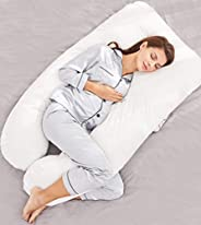 CANNON U-SHAPE FULL BODY Comfortable Pregnancy & Maternity Pillows - Cover 100% Cotton - Support Back, Hip