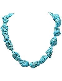 323d9c728e71 JYX Pearl - Collar de lapislázuli turquesa de 50