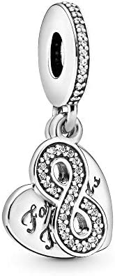 Pandora Women 925 Silver White Zircon FASHIONOTHER (791948CZ)