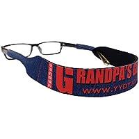 Cordon sport pour lunettes, Eyewear Retainer Sunglass Straps Ajustement Sécurisé pour vos Lunettes et des Lunettes