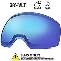 OutdoorMaster Skibrille PRO - Schnell Austauschbaren Linsen - 20