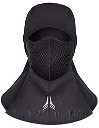 3ce27dc5eaf06 Arcweg Pasamontañas para Hombres Balaclava Moto Invierno Máscara para Esquí  Ciclismo Cálido Polar A Prueba de Viento Transpirable…