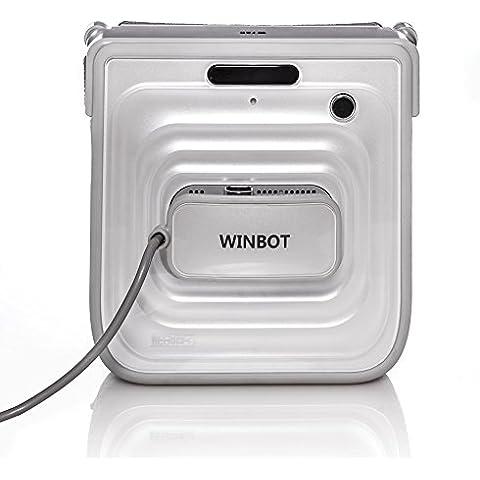 Ecovacs Winbot 730 - Robot limpiador para ventanas (11,1V, 2h, 23,2 cm, 9,5 cm, 22,5 cm) Color blanco - Winbot 730 Robot limpiador para ventanas