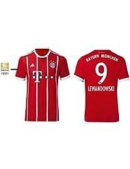 Trikot Kinder FC Bayern 2017-2018 Home BL - Lewandowski 9