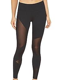 Femme Legging De Sport Athletic Gym Fitness Yoga Elastique Slim Transparent