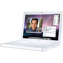 Apple MacBook  MB403 33,8 cm (13,3 Zoll) Notebook weiß (Intel Core 2 Duo 2,4GHz, 2GB RAM, 160GB HDD, DVD+- DL RW, Mac OS X)