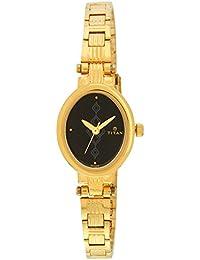 Titan Analog Black Dial Women's Watch -NK2535YM02