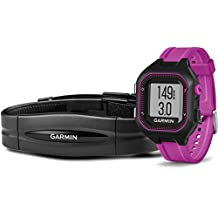 Garmin Forerunner 25 GPS-Laufuhr (Fitness-Tracker, Smart Notifications, inkl. Herzfrequenz-Brustgurt)