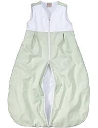 wellyou Baby Schlafsack mit Frottee gefüttert, grün