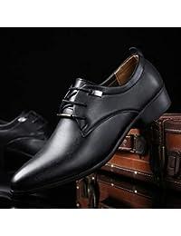 9100af0fefd918 LOVDRAM Männer Schuhe Große Größe Business Spitz Schuhe Herren Krawatte  Herrenschuhe Mode Hochzeit Schuhe Arbeitsschuhe 38
