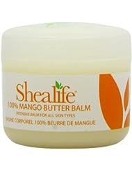 Baume 100% de corps de beurre de mangue de Shealife 100g