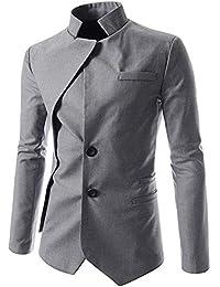 Saoye Fashion Superenger Blazer Blazer para Hombre con Cierre De Botones Leisure Chaqueta Ropa para Hombre con Traje Casual 1 Botón Blazer Slim Fit Hombres