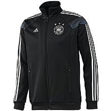 adidas Alemania Himno Pista Copa del Mundo 2014, S, Black/Dark Shale