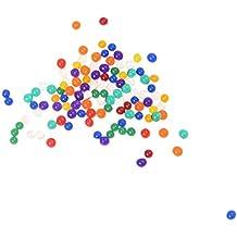 TOOGOO(R) colores mezclados perlas de agua
