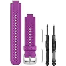 Garmin - Correa para Forerunner 25, color lila