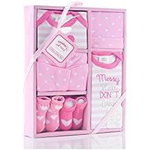 MOS7W|#Mothers Choice - Pack de 6 piezas para bebe,Color