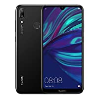 ‏‪HUAWEI Y7 Prime 2019 32 GB 6.26 inch FullView HD+ Dewdrop Display Smartphone with Dual AI Camera, Android Sim-Free Mobile Phone, 4000 mAh Large Battery, Dual SIM Version, Midnight Black‬‏