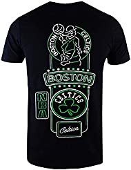 separation shoes 62fd3 dfb40 New Era Boston Celtics T Shirt Nba Neon Lights Tee